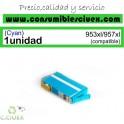 HP 953XL CYAN CARTUCHO DE TINTA GENERICO F6U16AE/F6U12AE