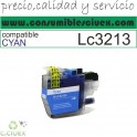 TINTA COMPATIBLE BROTHER LC3213/11 NEGRO