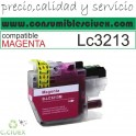 TINTA COMPATIBLE BROTHER LC3213/11CYAN