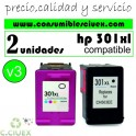 PACK HP 301XL COLOR Y NEGRO V1