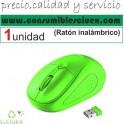 Raton Inalambrico USB 1600dpi 8m Verde