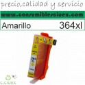 HP 364 XL AMARILLO CARTUCHO TINTA COMPATIBLE