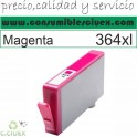 HP 364 XL MAGENTA CARTUCHO TINTA COMPATIBLE