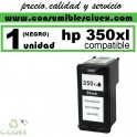 CARTUCHO DE TINTA HP 350XL COMPATIBLE / REMANUFACTURADO