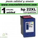 CARTUCHO DE TINTA HP 22XL REMANUFACTURADO / COMPATIBLE