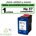 CARTUCHO DE TINTA HP 57 REMANUFACTURADO / COMPATIBLE
