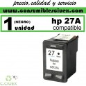 CARTUCHO DE TINTA HP 27 COMPATIBLE / REMANUFACTURADO