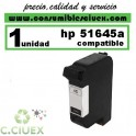 CARTUCHO DE TINTA HP 45 REMANUFACTURADO / COMPATIBLE