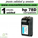 CARTUCHO DE TINTA HP 78 REMANUFACTURADO / COMPATIBLE