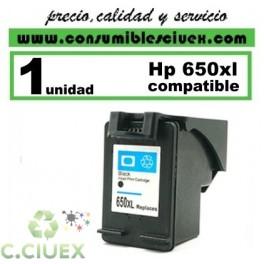 HP 650XL NEGRO COMPATIBLE