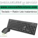 Trust 22025 Teclado USB + Raton Inalambrico USB Negro