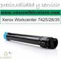 XEROX WORKCENTRE 7425/7428/7435 CYAN CARTUCHO DE TONER GENERICO