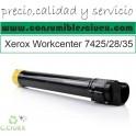 XEROX WORKCENTRE 7425/7428/7435 AMARILLO CARTUCHO DE TONER GENERICO